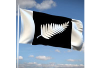 """The Black & Silver"" New Zealand flag"