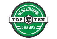 New Zealand Top 10 Roller Derby champs